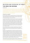 rel›g›on and school›ng ›n turkey: the need for reform - SETA - Page 5