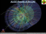 Recent results from ALICE - RHIG - Wayne State University