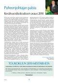 Yhdistyksen jäsenlehti 5/10, PDF tiedosto - Helsingin ... - Page 3