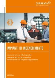 IMPIANTI DI INCENERIMENTO - Currenta