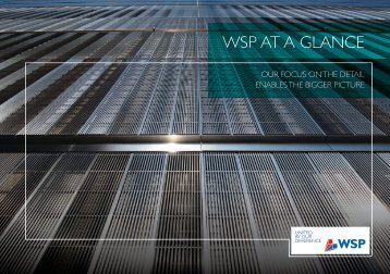 WSP AT A glANCE - WSP Group