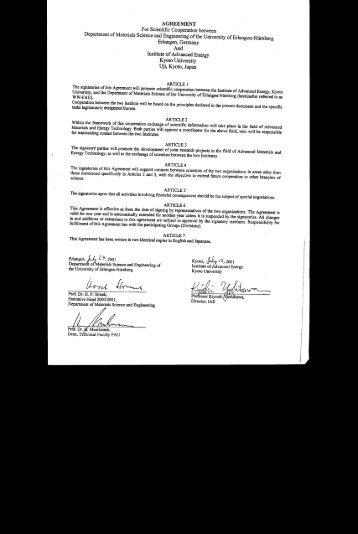 previous agreement - LKO