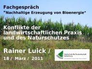 Prof. Dr. Rainer Luick - Dorothea Steiner, MdB