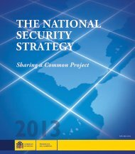 The National Security Strategy of Spain - La Moncloa