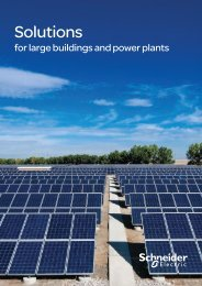 Solutions-for-large-buildings-and-power-plants - Schneider Electric
