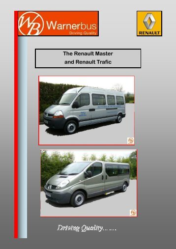 The Renault Master and Renault Trafic