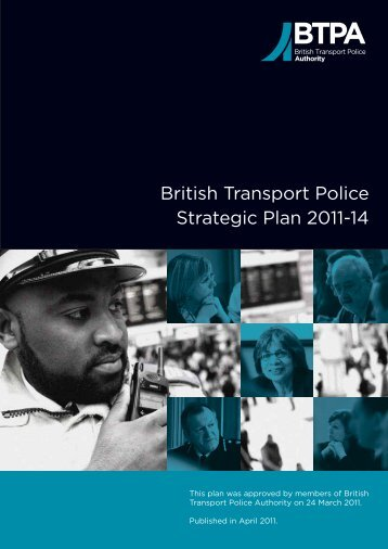 Strategic Plan 2011-2014 - British Transport Police