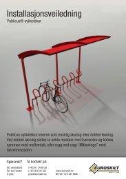 Publicus sykkelskur - Euroskilt AS