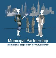Municipal Partnership - International cooperation for ... - Webbutik