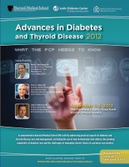Advances in Diabetes and Thyroid Disease - HMS-CME