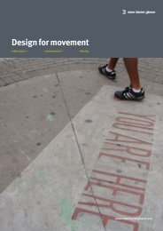 Design for movement - Steer Davies Gleave