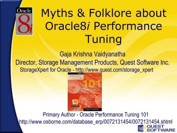 Oracle8i - Quest Software