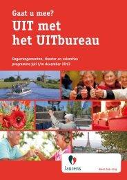 UIT met het UITbureau - Laurens