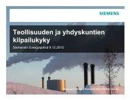 esitys - Siemens