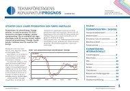 Konjunkturprognos 2013 - Teknikföretagen