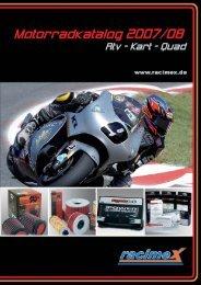 K&N Motorrad-Katalog - Racimex Vertriebs GmbH