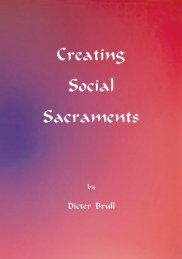 Creating Social Sacraments - Waldorf Research Institute
