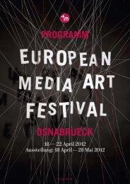 Zum Programm (PDF) - EMAF