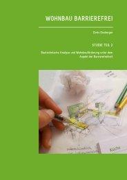 Wohnbau barrierefrei Studie Teil 2 Bautechnische Analyse und ...