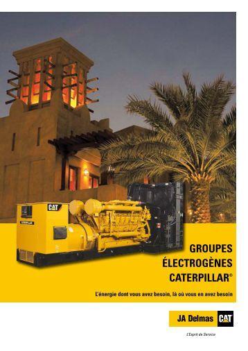 GROUPES ÉLECTROGÈNES CATERPILLAR ® - africa power systems