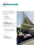 Fabric Architecture, May/June 2009, Digital Edition - Specialty ... - Page 5