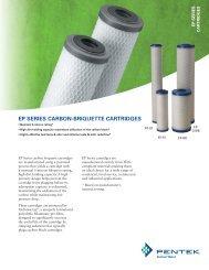 Pentek EP Carbon Briquette Filter Cartridges.pdf - aQuatell