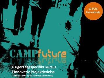 6 ugers fagspecifikt kursus i Innovativ Projektledelse