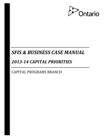 capital priorities - Financial Analysis and Accountability Branch ...