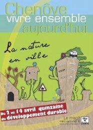 Mag mars 2012 - Ville de Chenôve