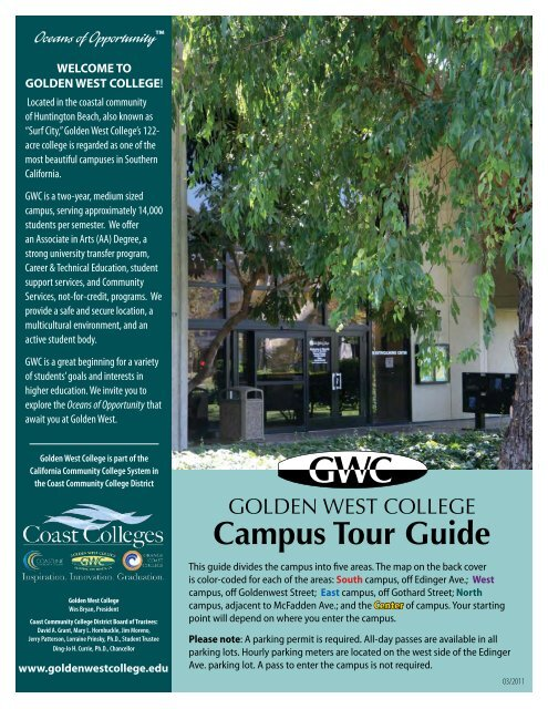 Campus Tour Guide [PDF] - Golden West College on guilford technical community college map, erie community college map, evergreen college map, copper mountain college map, cerritos community college map, excelsior college map, maple woods community college map, grace bible college map, highline college map, animal behavior college map, belmont college map, vanguard university of southern california map, pima community college west campus map, grand rapids community college map, richmond college map, city of huntington park ca map, guam community college map, st. norbert college map, pasadena college map, lane community college map,