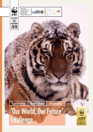 'Our World, Our Future' Challenge - WWF UK
