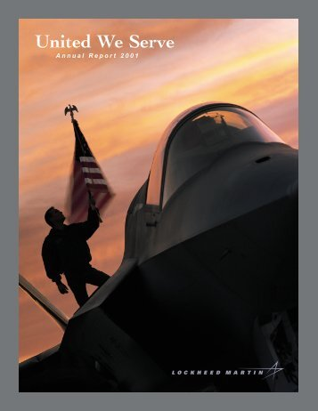 2001 Annual Report for Lockheed Martin Corporation