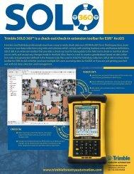 SOLO 360 DATA SHEET