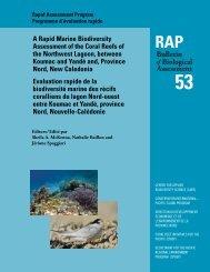 Rapid Assessment Program/RAP Bulletin on Biological Assessment