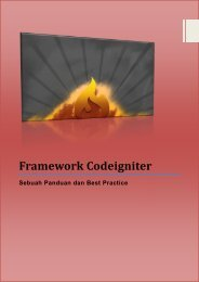 Frameworkcodeigniter 2