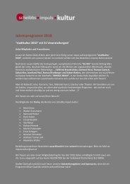Jahresprogramm 2010 (pdf-Datei) - scheibbs.impuls.kultur
