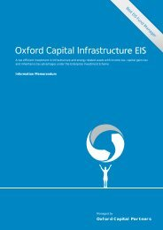 Oxford Capital Infrastructure EIS - Clubfinance