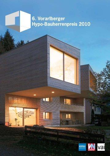 6. Vorarlberger Hypo-Bauherrenpreis 2010