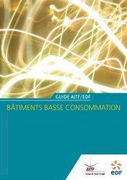 BÃ'TIMENTS BASSE CONSOMMATION - Amoes
