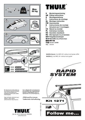 RAPID SYSTEM RAPID SYSTEM - Sallmann Autoteile