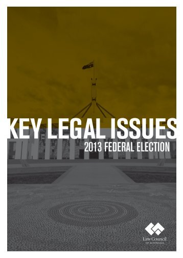 2013 FEDERAL ELECTION