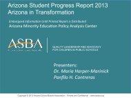 Arizona in Transformation - Arizona School Boards Association