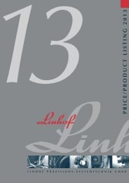 Linhof price listing 2013