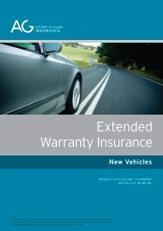 Extended Warranty Insurance New Vehicles - Automotive Global