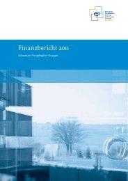 Finanzbericht 2011 (PDF, 1.9 MB) - Schweizer Paraplegiker-Gruppe