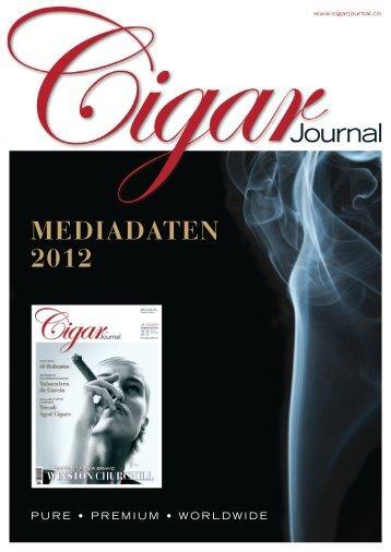 MEDIADATEN 2012 - Cigar Journal