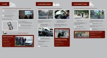 Le code La formation voiture La formation 2 roues - Flash Conduite