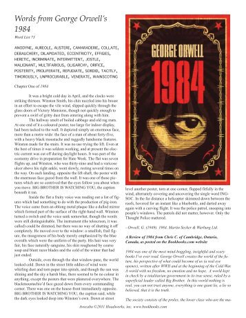 a comparison of 1984 by george orwell and the hunger games by suzanne collins