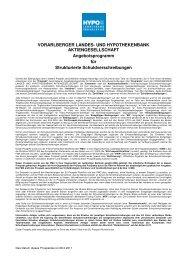 VORARLBERGER LANDES- UND HYPOTHEKENBANK ...