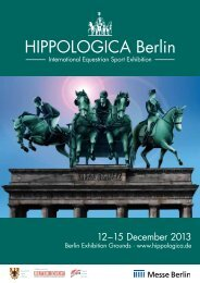 Exhibitor invitation 2013 - Hippologica